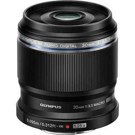 Olympus M.Zuiko Digital ED 30mm 1:3.58 schwarz (makro) Makro Objektiv
