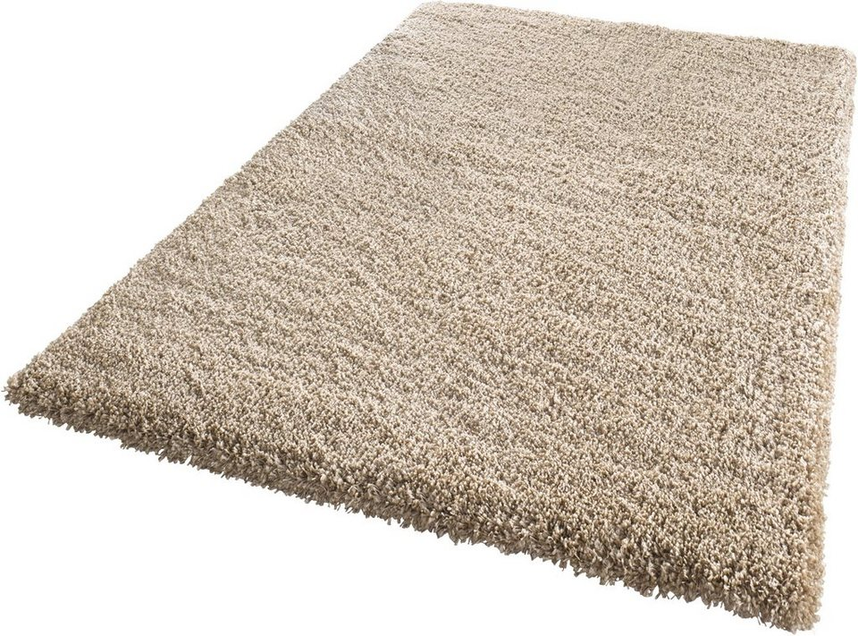 Hochflor-Teppich, Mint Rugs, »Venice«, Höhe 45 mm, gewebt in braun