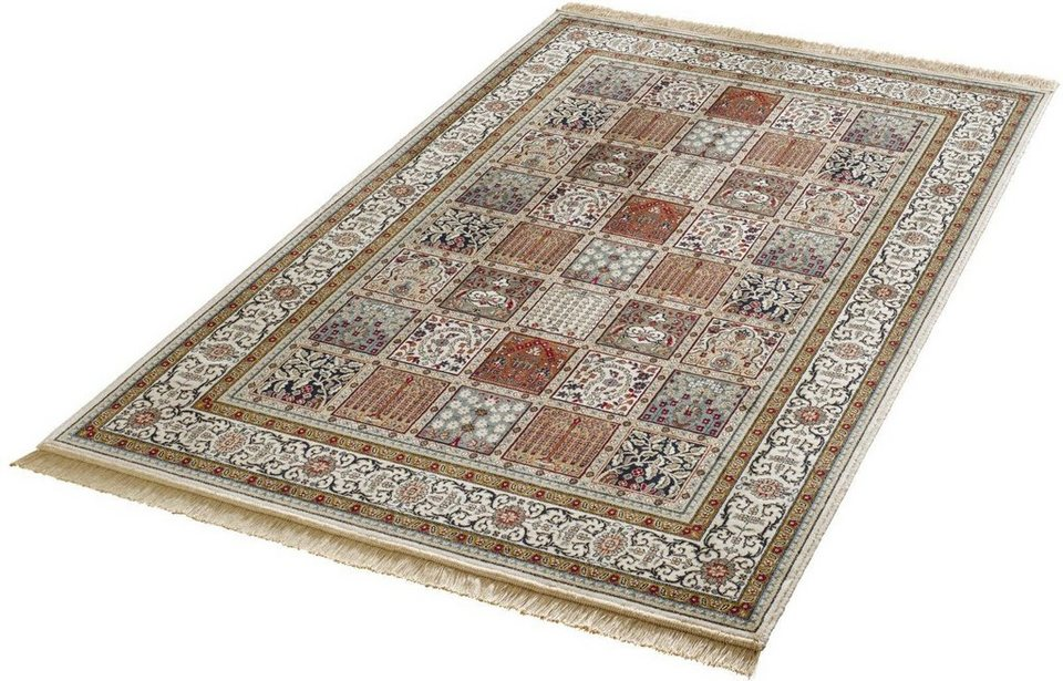 Orient-Teppich, Mint Rugs, »Precious«, gewebt in creme