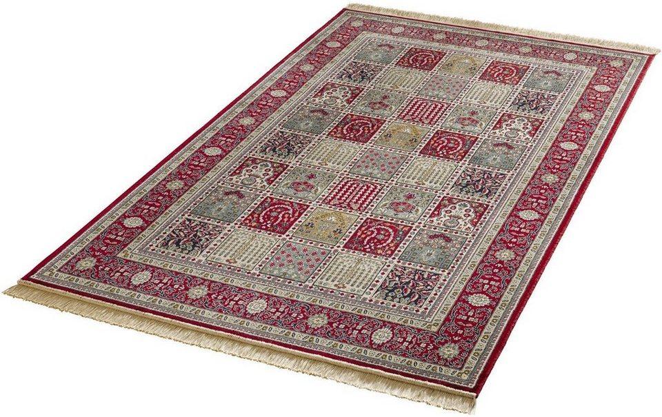 Orient-Teppich, Mint Rugs, »Precious«, gewebt in rot