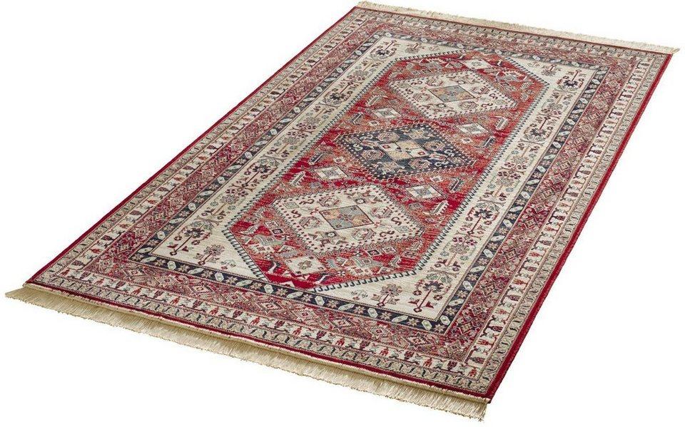 Orient-Teppich, Mint Rugs, »Cult«, gewebt in rot