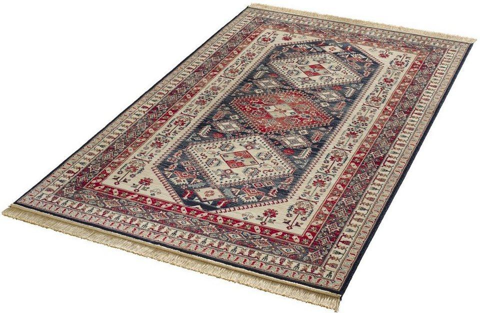Orient-Teppich, Mint Rugs, »Cult«, gewebt in blau