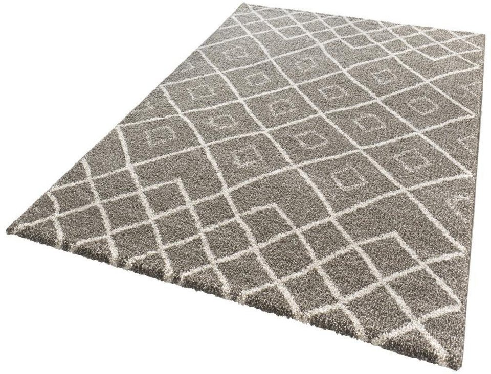 Teppich, Mint Rugs, »Maison«, gewebt in taupe creme