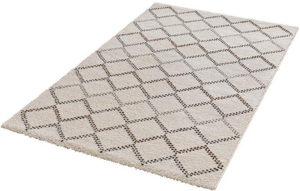 Teppich, Mint Rugs, »Nouveau«, gewebt in creme braun