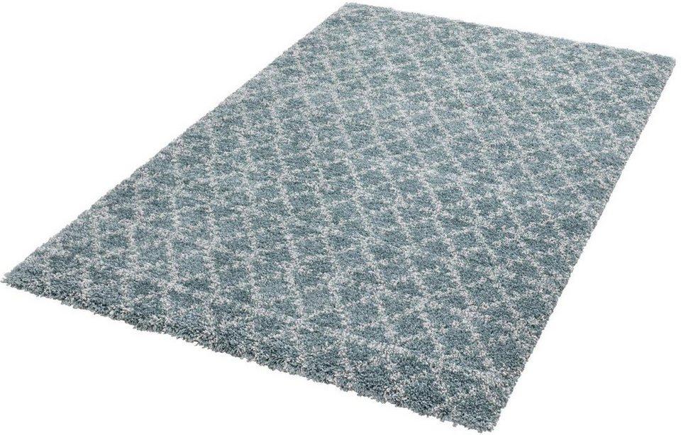 Hochflor Teppich Cameo Mint Rugs Rechteckig Hohe 35 Mm Online