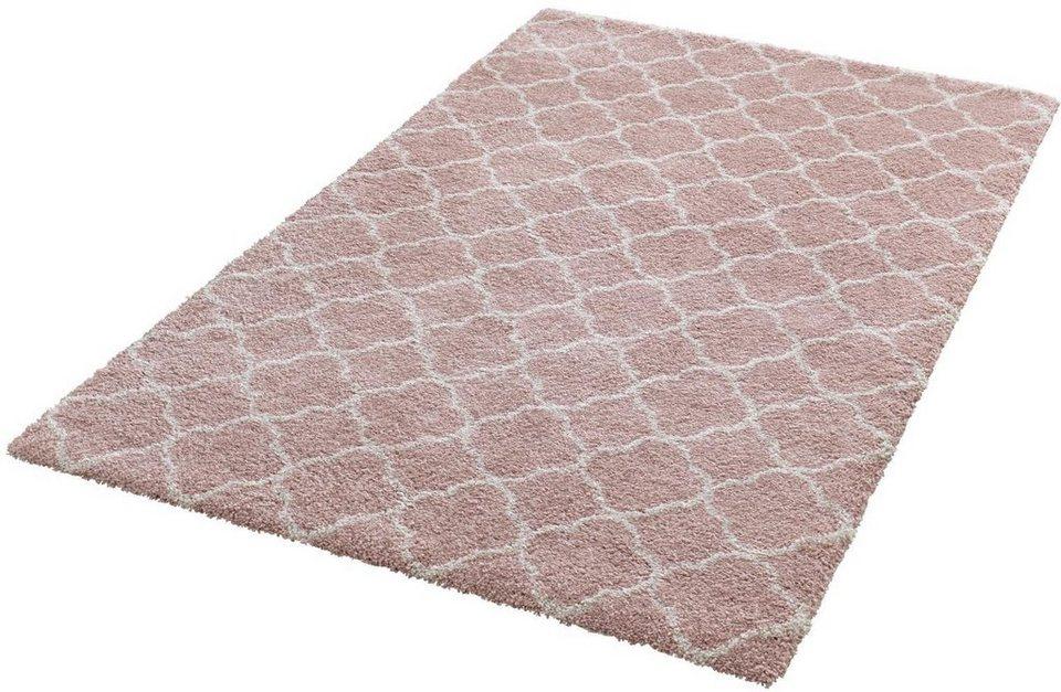Hochflorteppich  Hochflor-Teppich, Mint Rugs, »Luna«, Höhe 35 mm, gewebt online ...