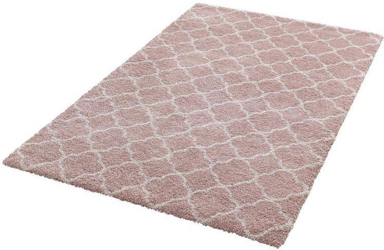 Hochflor-Teppich »Luna«, MINT RUGS, rechteckig, Höhe 35 mm