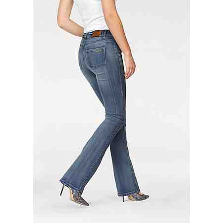 Arizona Bootcut-Jeans »zaubert lange Beine« High Waist