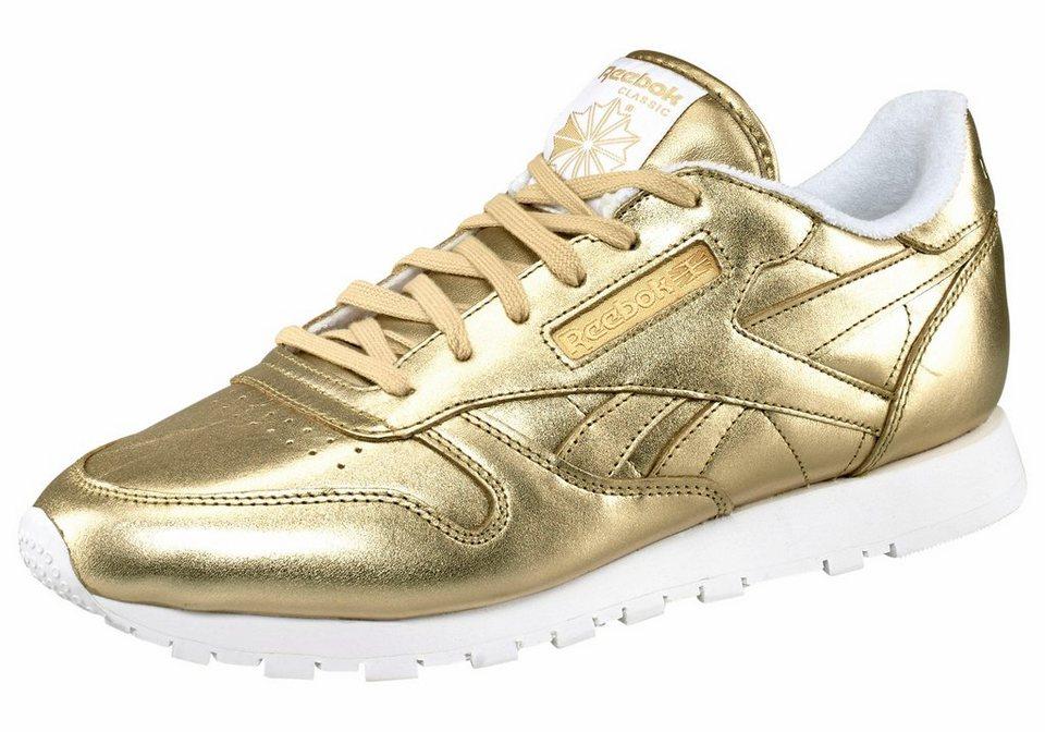 Reebok Sneaker »Classic Leather Spirit« in goldfarben