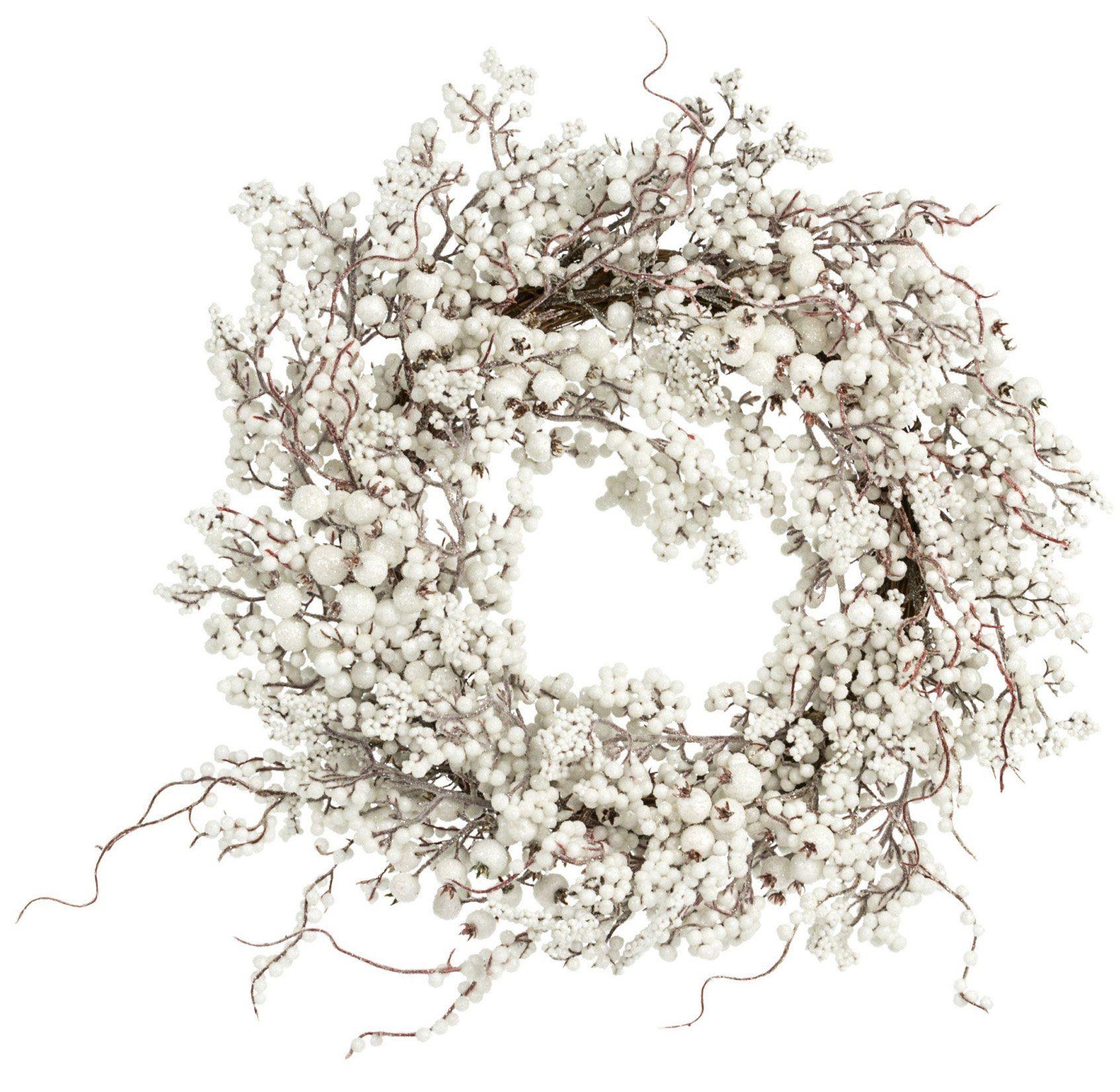 Wandkranz, »Weiße Beeren«