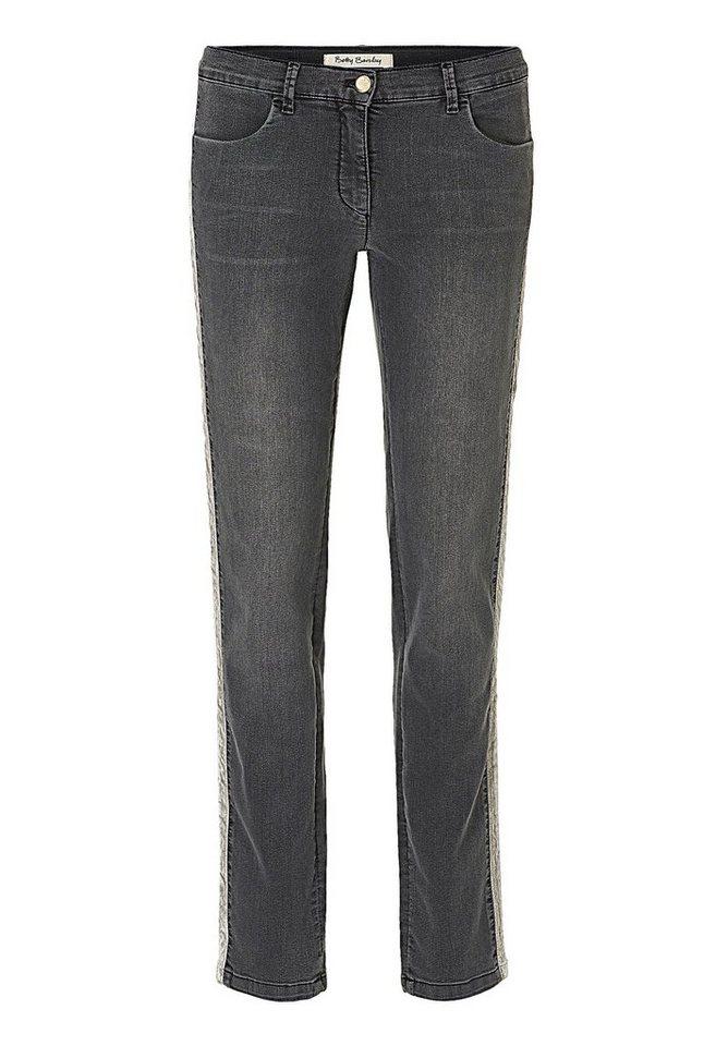 Betty Barclay Jeans in Dark Grey Denim - Gr