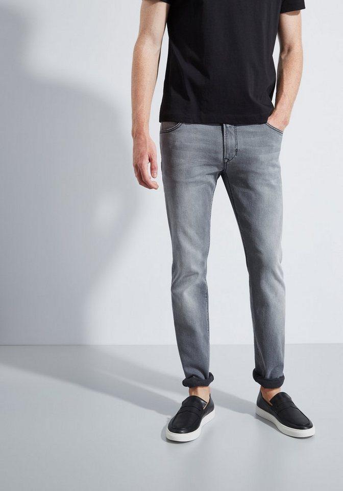 Otto Kern Jeans »David« in grey denim