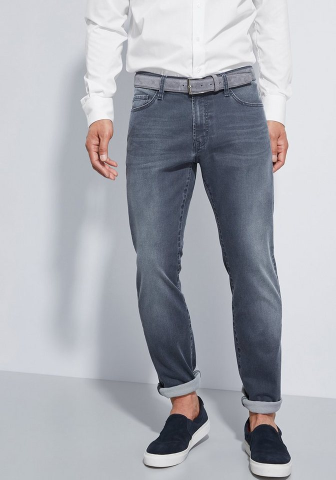 Otto Kern Jeans »John« in grey denim