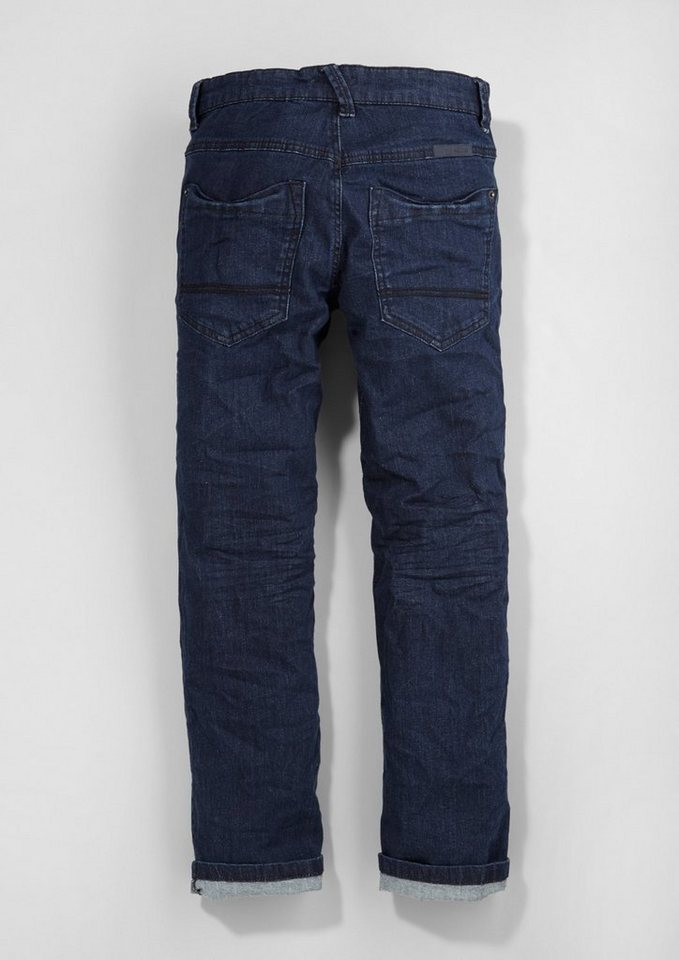 s.Oliver RED LABEL Junior Pete: Stretch-Jeans für Jungen in blue denim stretch