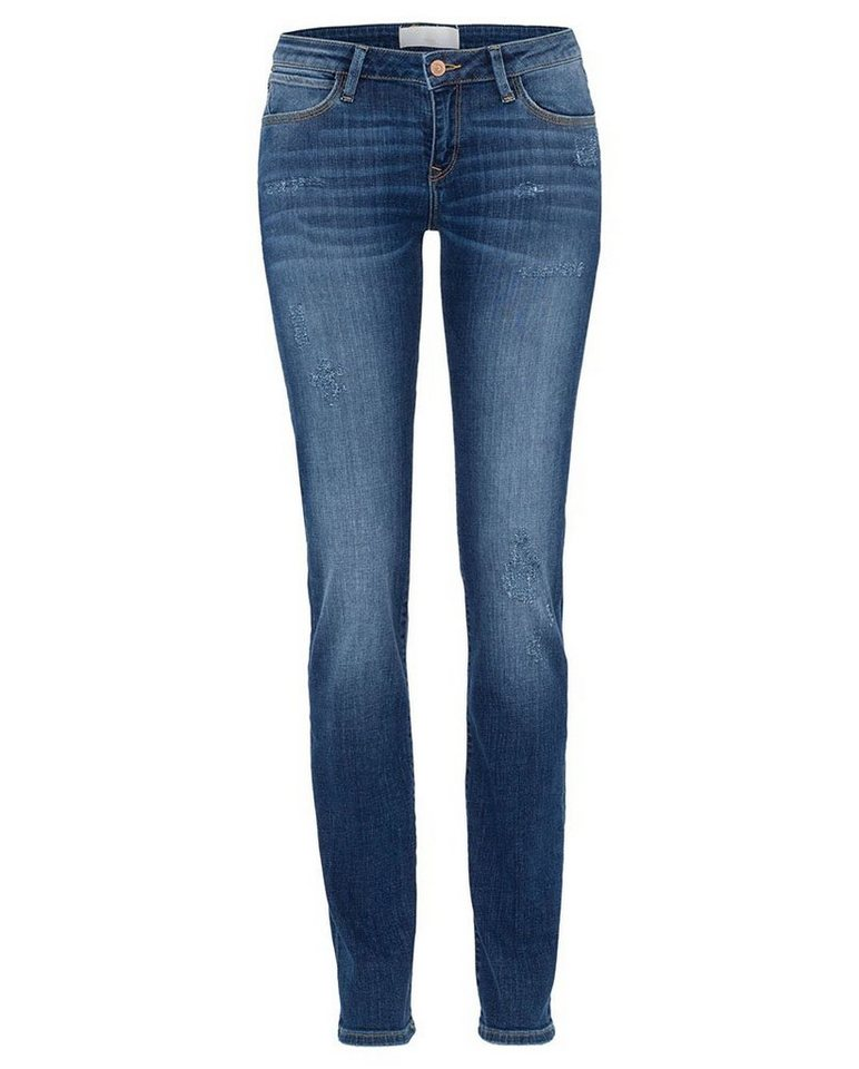 CROSS Jeans ® Skinny Fit Jeans mit hoher Leibhöhe »Elsa« in mid blue