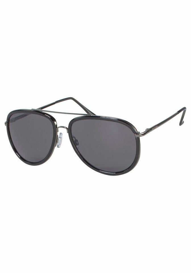 Sonnenbrille Herren Trends 2014 schwarz verspiegelte Gläser