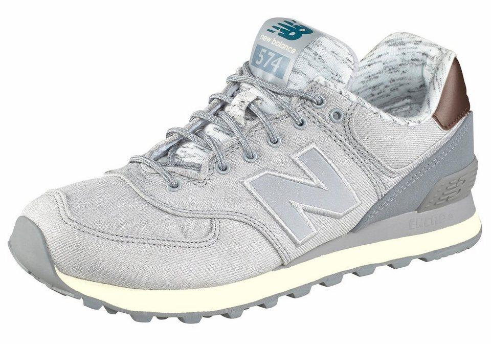 New Balance »WL574« Sneaker in hellgrau