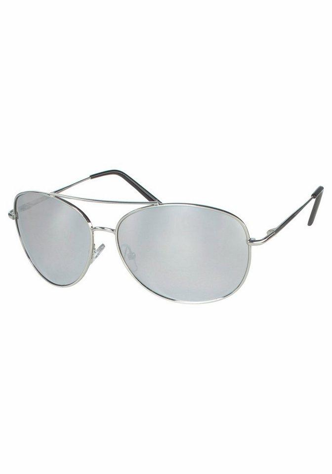 YOUNG SPIRIT LONDON Eyewear Sonnenbrille im klassischen Design in silberfarben