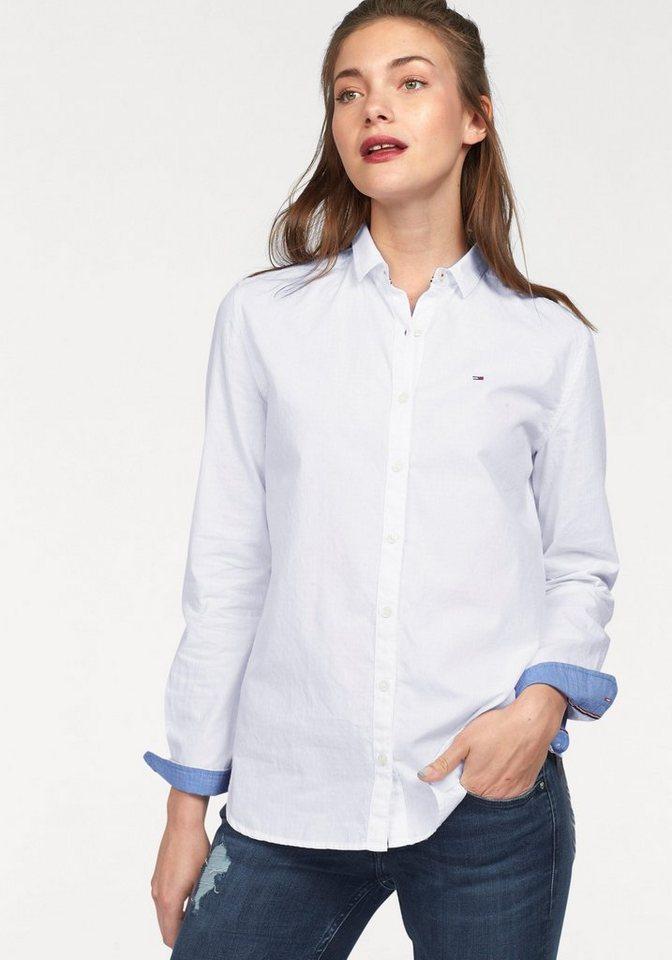 Hilfiger Denim Hemdbluse in weiß