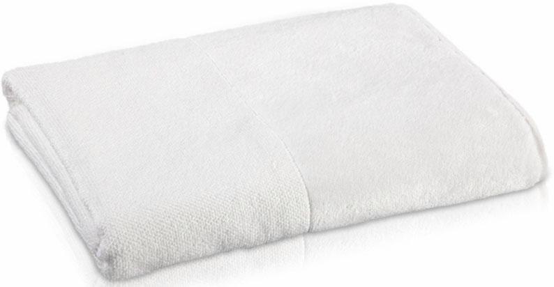 Handtuch, Möve, »Bamboo Luxe«, mit seidigem Schimmer in weiß