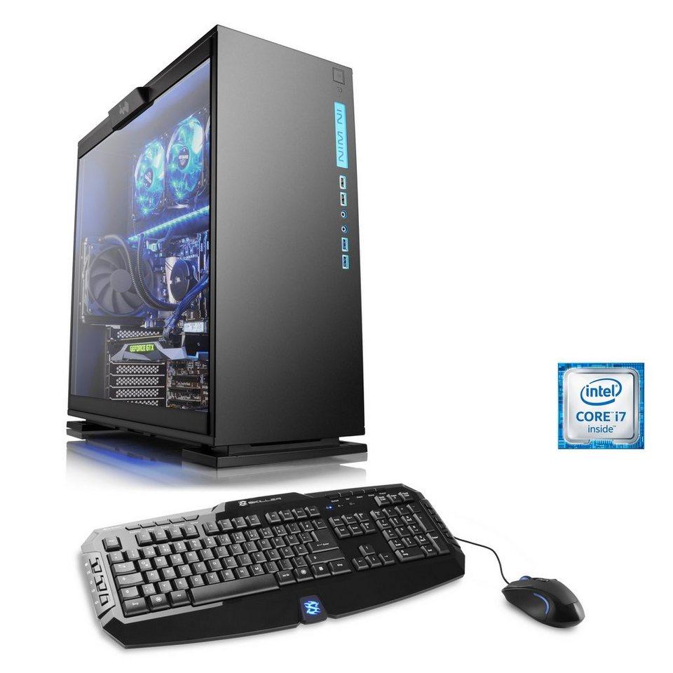 CSL Extreme Gaming PC | Core i7-6700K | GTX 1080 | 32 GB DDR4 | SSD »HydroX T7055 Wasserkühlung«