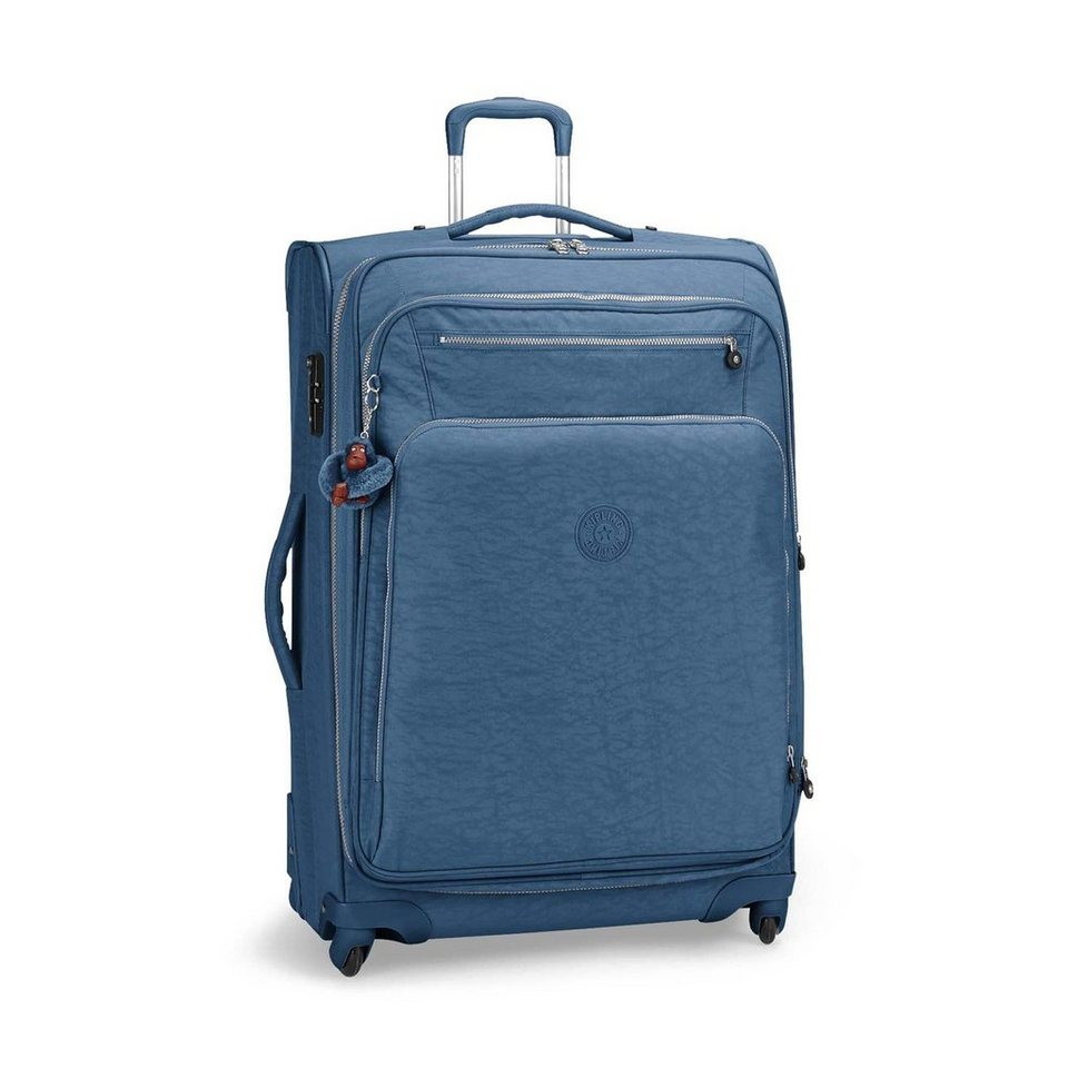 Kipling Basic Travel 4-Rollen Trolley Youri Spin 78 cm in jazzy blue