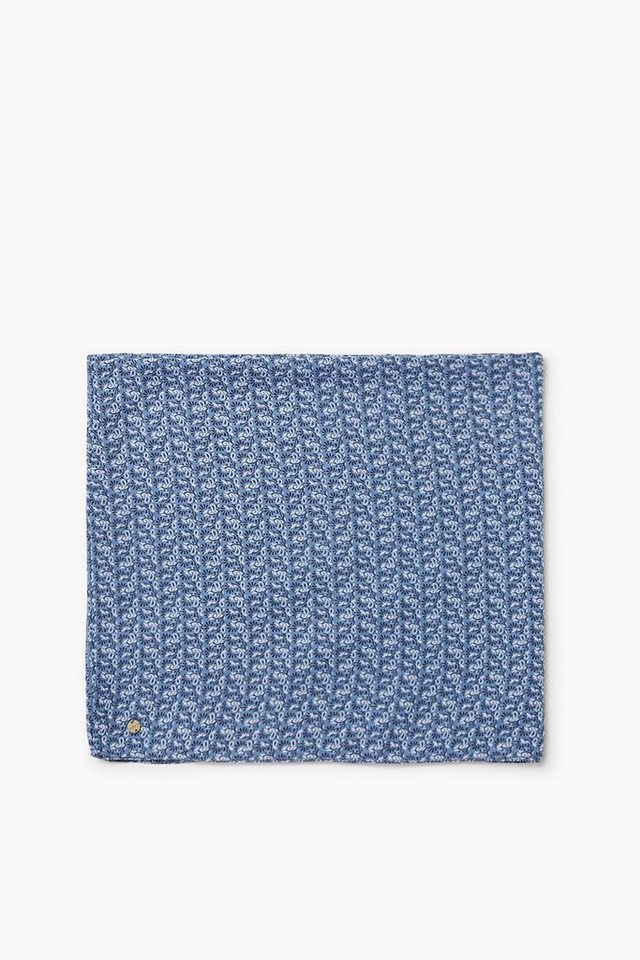 ESPRIT CASUAL Fließender Web-Loop mit Allover-Print in GREY BLUE