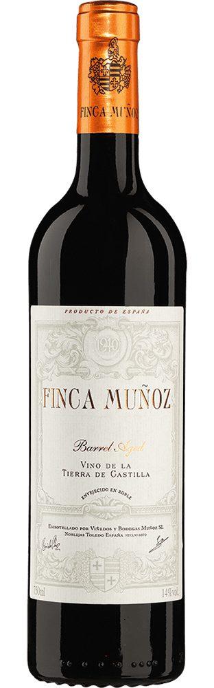 Rotwein aus Spanien, 14,0 Vol.-%, 75,00 cl »2011 Finca Muñoz Tempranillo«