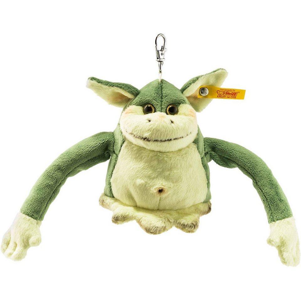 Steiff Anhaenger Edric Monster, 10 cm grün