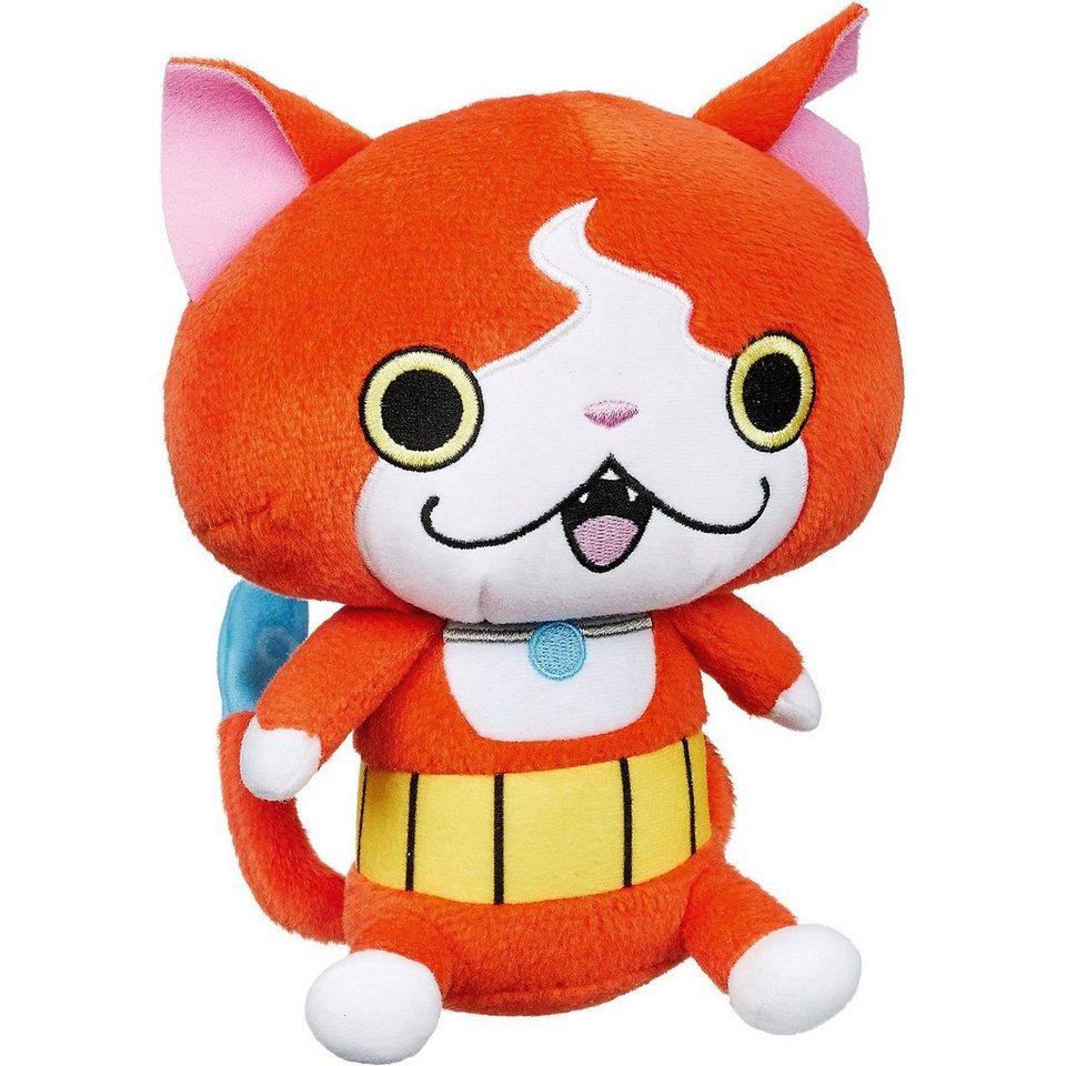 Hasbro Yo-Kai Watch Plüschfigur Jibanyan, 12cm