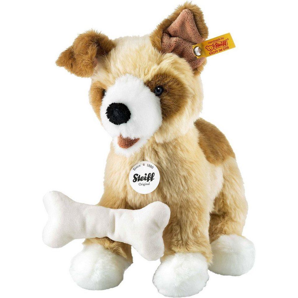 Steiff Rico Hund 25 cm, blond/braun
