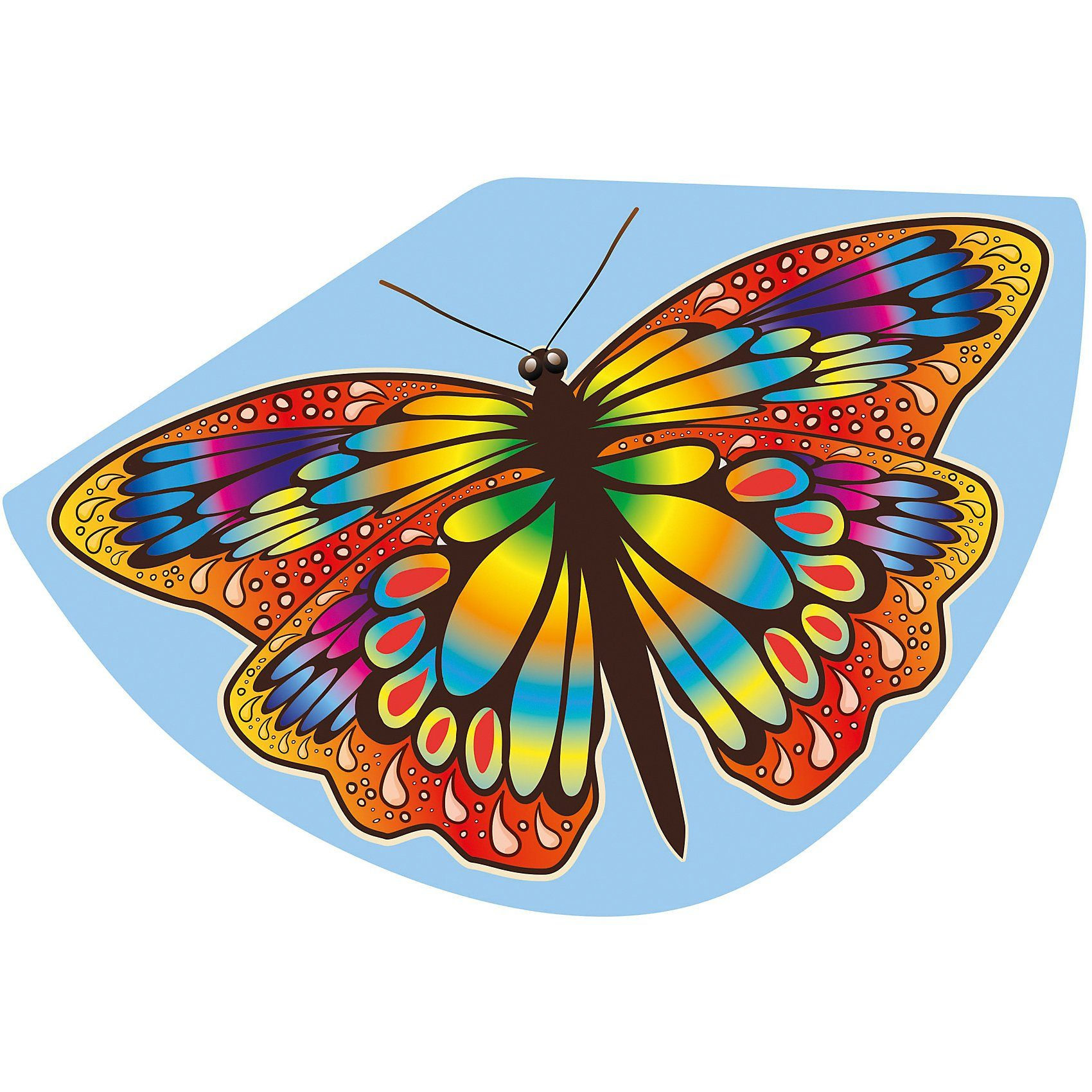 Einleinerdrachen Papillon