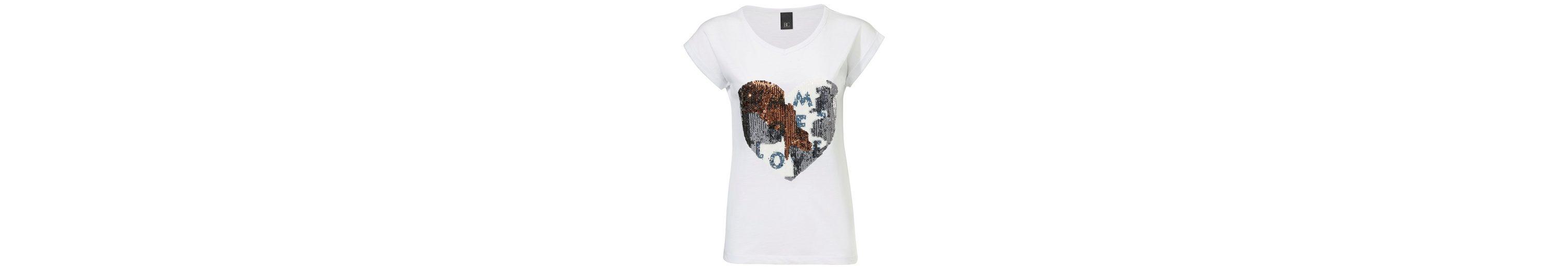 Verkaufskosten Verschleißfestigkeit B.C. BEST CONNECTIONS by Heine V-Shirt mit Mustermix Nicekicks Günstigen Preis Marktfähig u9Jkd