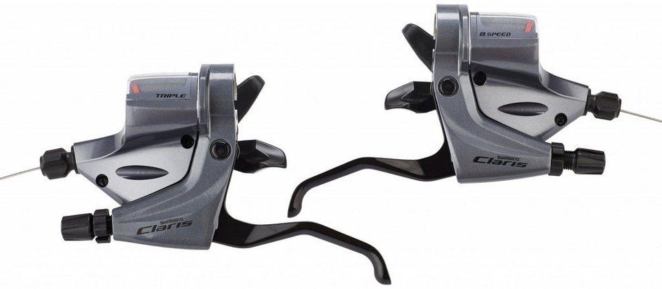 Shimano Schaltung »Claris ST-R240 Schalt-/Bremshebe 3x8-fach«