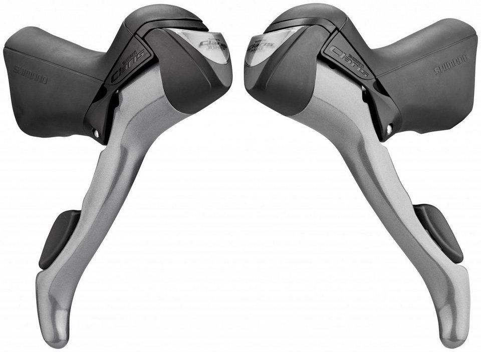 Shimano Schaltung »Claris ST-2400 Schalt-/Bremshebel Paar 2x8-fach«