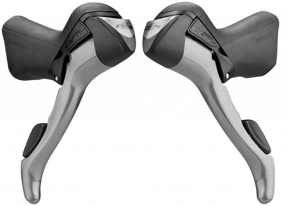 Shimano Schaltung »Claris ST-2400 Schalt-/Bremshebel Paar 3x8-fach«