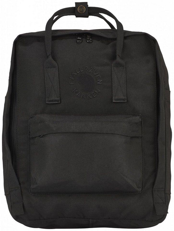 Fjällräven Sport- und Freizeittasche »Re-Kanken Daypack« in schwarz