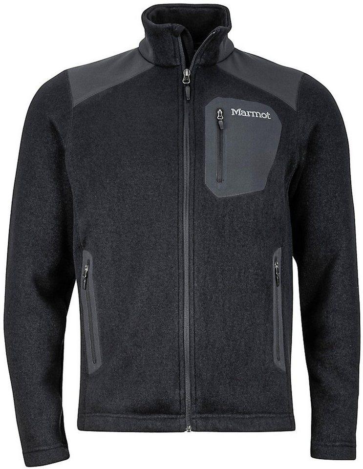 Marmot Outdoorjacke »Wrangell Jacket Men« in schwarz
