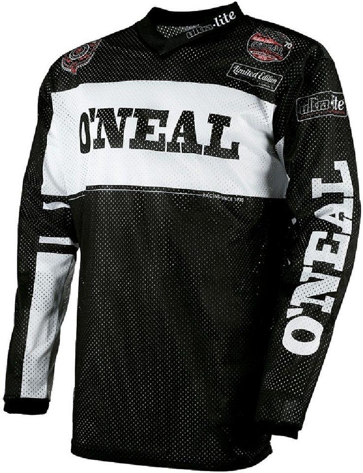 O'NEAL Radtrikot »Ultra Lite 75 Jersey Men« in schwarz
