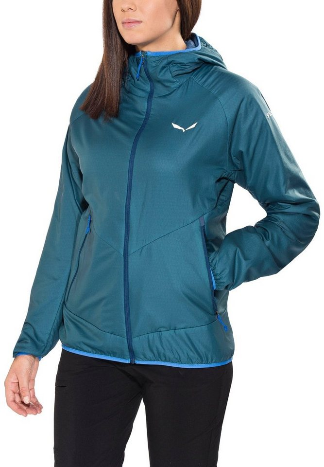 Salewa Outdoorjacke »Sesvenna 2 PTC Jacket Women« in petrol