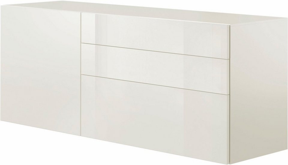 now! by hülsta Sideboard »now! vision«, Breite 176 cm in Lack weiß