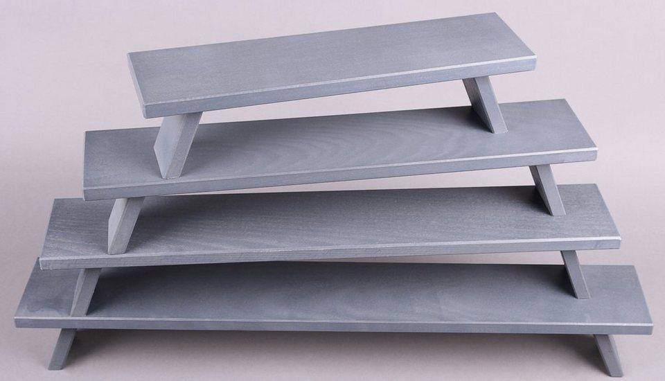 Weigla® Fensterbank, grau in grau