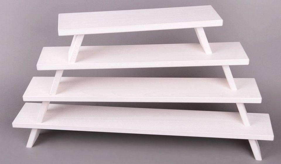 Weigla® Fensterbank, weiß in weiß