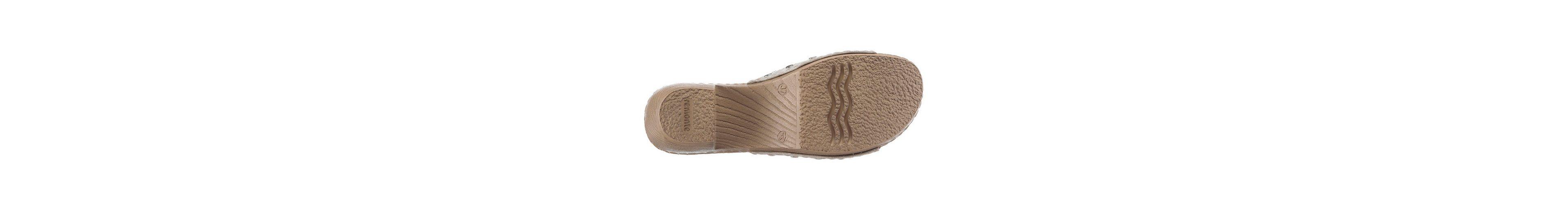 Remonte Pantolette, mit modischer Perforation