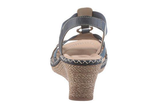 Remonte Sandalette, mit auffälligen Nähten