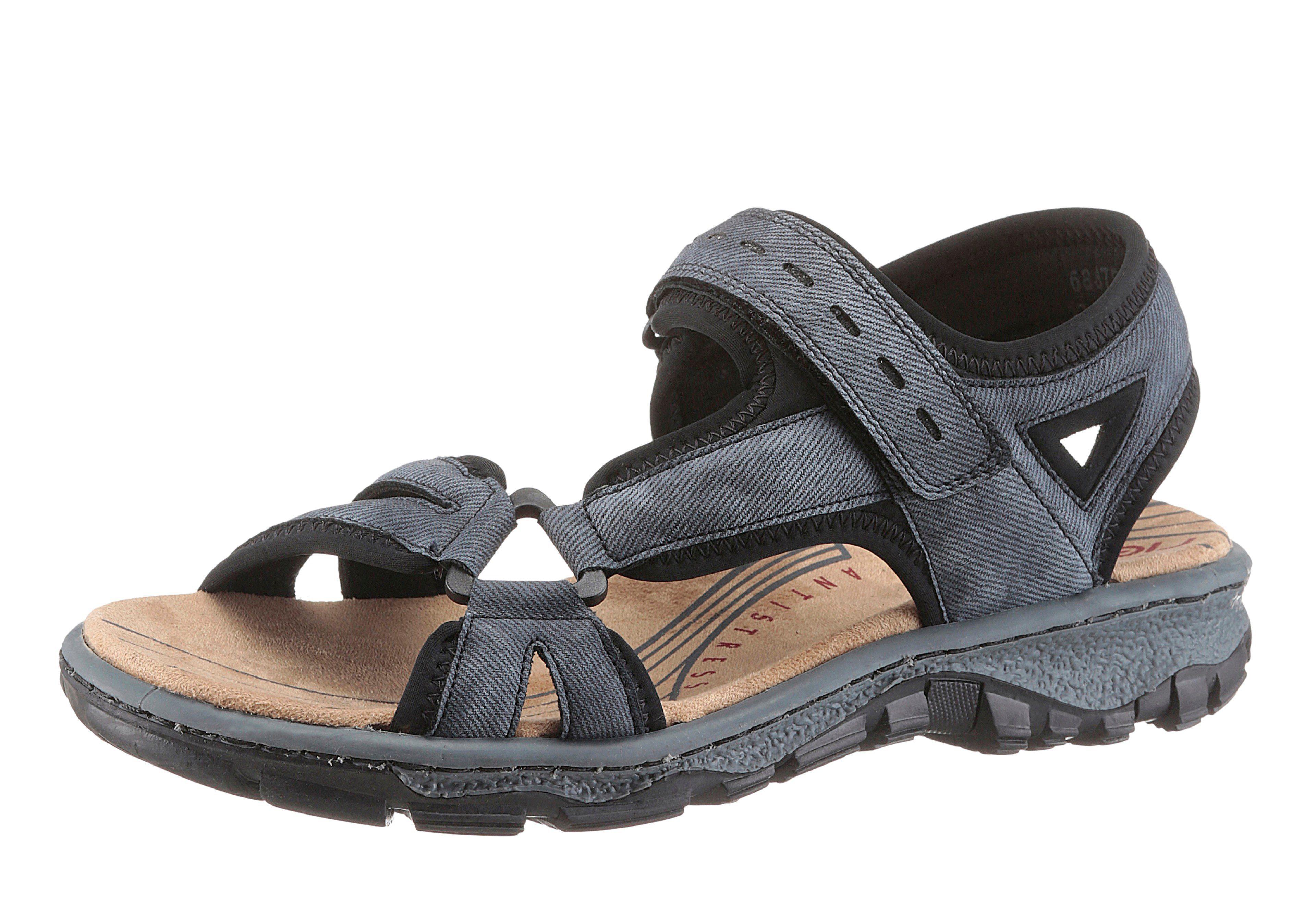 Rieker Outdoorsandale in sportivem Look, Sportive Sandale im Trekking Stil online kaufen | OTTO
