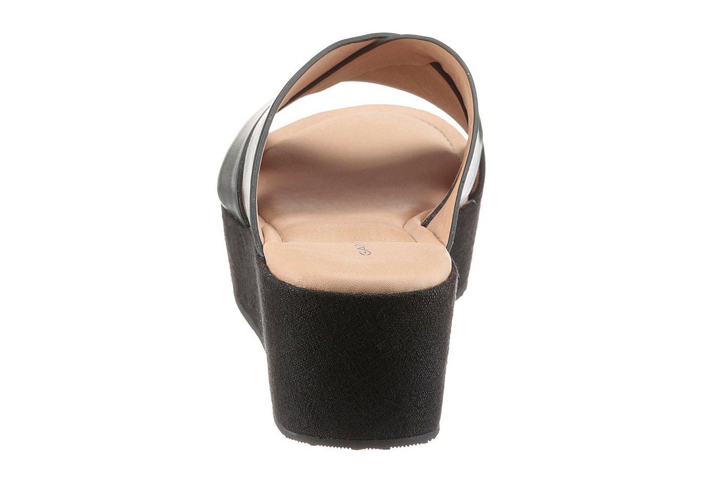 Gant Footwear Keilpantolette, im Basic-Look