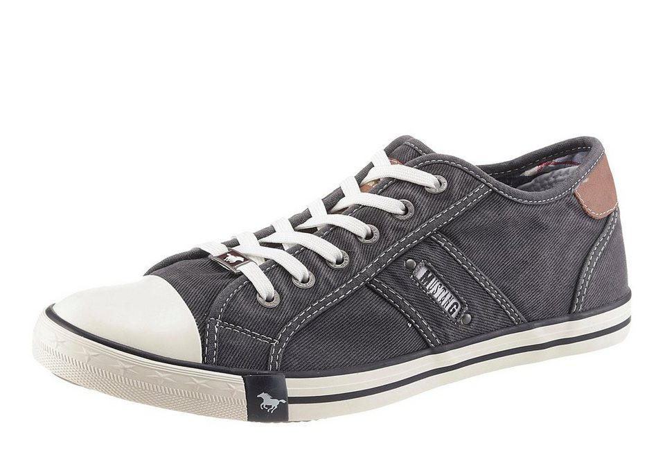 Mustang Shoes Sneaker in schwarz