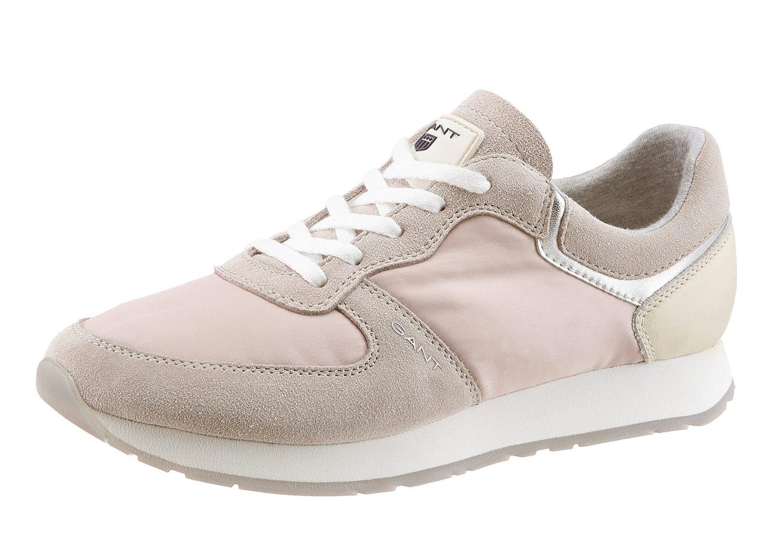 Gant Footwear Sneaker, im trendigen Materialmix
