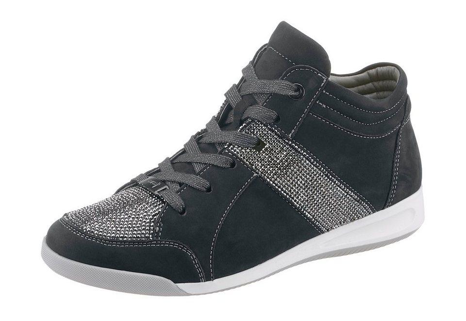 Ara Sneaker in Weite G in dunkelblau